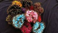 New Girls Womens Soft  Sparkle Hair Scrunchies Bobbles Elastic  Buy 3 get 1 free