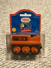 Thomas Friends Wooden Railway Terence Engine Train With Collector Card New 2001