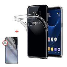 Carcasa de silicona para Samsung Galaxy s8 transparente bolsa huelle funda tipo bumper, funda