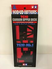 Tamiya 53356 TG10 Carbon Upper Deck New In Box TG-10 1/10th OP.356