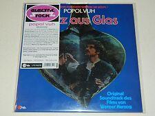 POPOL VUH - Herz Aus Glass (1977) / Re.Wah Wah / Clear Vinyl LP - New Sealed