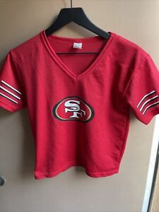 Vintage NFL San Francisco 49ersFootball Replica Jersey By Franklin Woman's M