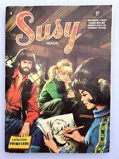 SUSY N° 4  ( BD PETIT FORMAT MENSUEL EDITION AREDIT ANNEE 1970 )