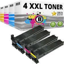 4x XXL TONER Patrone für KONICA MINOLTA MAGICOLOR 5550D 5650EN 5670D 5670DTH Set