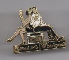 Pin's partenariat Philips / Whirlpool (champagne)