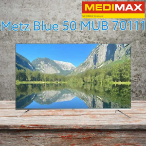 Metz blue 50MUB7111 Silber 50 Zoll 4K UHD Smart TV WLAN Triple Tuner NEU OVP