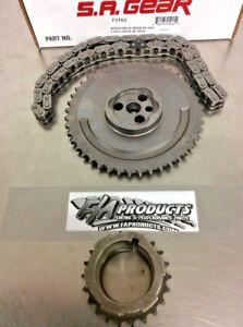 SA Gear 73162 for 2003-2007 Chevrolet LS 4.8L 5.3L 6.0L Engine 3 Bolt Timing Set