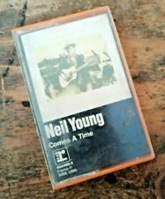 "ANCIENNE CASSETTE AUDIO ""Neil Young"" comes a time K7 VINTAGE COLLECTION 70'S"