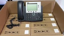 Lot of 8 Cisco CP-7941G 7941 IP Phone VOIP W/ Handset, Stands