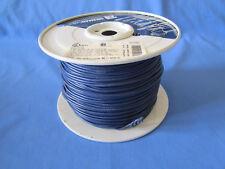 18 Gauge MTW/TEW Hookup Wire Stranded Copper Wire Blue Full Roll 500 feet