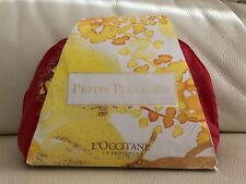 L'Occitane Petits Pleasures Gift Set Body Lotion Shower Gel Cream Soap NEW