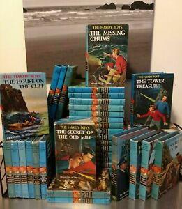 BUILD A BOOK LOT: Hardy Boys Detective Story VINTAGE MATTE: CHOOSE TITLES: Dixon