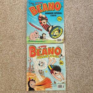 2 x Vintage Beano Summer Specials Comics 1992 Editions 30 & 31