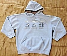 HYBRID Boy's Long Sleeve Gray THINGS I LEARN Hoodie Sweatshirt, Size L (12/14)