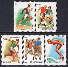 5081 - Russia 1981 - Sports - Football - Boxing - Swimming - Mnh Set
