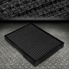 FOR 93-11 VW JETTA/GOLF/BEETLE AUDI S3/TT DROP-IN PANEL CABIN AIR FILTER BLACK