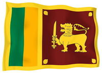 Sticker decal vinyl decals national flag car sri lanka luggage ensign bumper