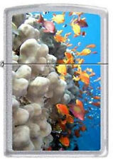 Zippo 0751 coral reef fish chrome RARE & DISCONTINUED Lighter
