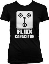 Flux Capacitor- Time Machine Doc Movie Sayings Slogans  Juniors T-shirt