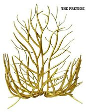 ITALIAN GOLD TWIG WALL HANGING BASKET OR A TABLE TOP