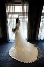 Beading Regular Size Long Sleeve Wedding Dresses