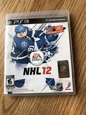 NHL 12 (Sony PlayStation 3, 2011) PS3 Cib Game -H2
