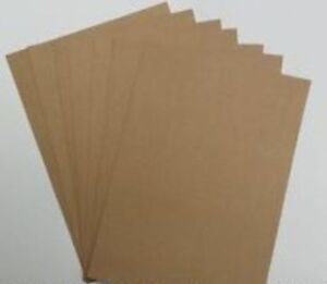 A4 SMOOTH Kraft Card 280 gsm Natural Brown colour - Very Good Quality