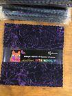 Clothworks Batik Menagerie by Laurel Burch SQ0192 Midnight 5