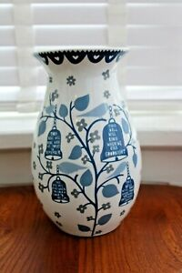 Rob Ryan Rare Large Bell Pattern Vase - Excellent Condition
