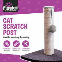 Cat Kitten Corner Sisal Scratching Pole Post Pet Toy Scratcher Play Activity