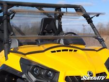 Can-Am Commander Scratch Resistant Flip Windshield By Super ATV