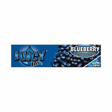 3 packs Rolling Papers Blueberry Juicy Jays - King Size Slim 32 Leaves Per Pack
