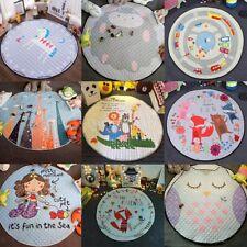 "60"" Cute Animal Play Mat for Kids Baby Toddler Play Crawl Blanket Floor Rug"