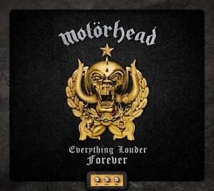 MOTORHEAD EVERYTHING LOUDER FOREVER VERY BEST OF 2-CD (Released 29/10/2021)