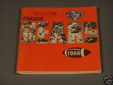 Chicago Bears 1966  - A Football Publication Loaded with Bear's Information