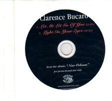 (DR33) Clarence Bucaro, Let Me Let Go Of You - 2009 DJ CD
