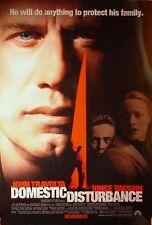 DOMESTIC DISTURBANCE 27x40 D/S Original Movie Poster One Sheet John Travolta