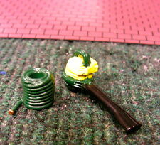 Gas Blower And Water Hose Landscape Accessories 1:24 (G)Diorama