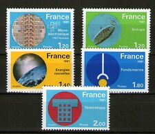 SERIE TIMBRES 2126-2130 NEUF XX LUXE -  GRANDES REALISATIONS