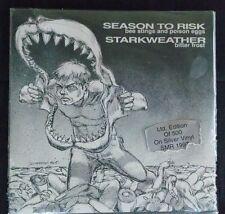 "SEASON TO RISK STARKWEATHER SPLIT 7"" ORIGINAL RARE Hardcore"