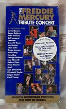 New The Freddie Mercury Tribute Concert & Queen Live At Wembley '86 Vhs Tapes