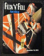 2013 Dec 18 ROCK N ROLL Auction Catalog FN+ 6.5 128pgs