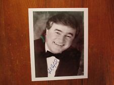 FRANK MILLS(Love Me, Love Me Love/Music Box Dancer)Signed 8x10 Black/White Photo