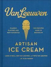 Ships FREE! VAN LEEUWEN ARTISAN ICE CREAM Cookbook 100 Recipes VEGAN Brooklyn