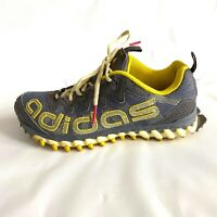 Adidas Shoes Vigor TR 3 Yellow Gray Trail Runners Running Hiking Women's Size 8