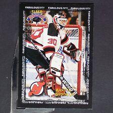 MARTIN BRODEUR  1996/97 Fleer NHL Picks of 96/97 #4of50 New Jersey Devils Vezina