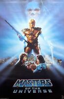 """Masters of the Universe / Orig. Vint. Poster """"1987"""" / Exc. New cond./ 22 x 34"""""""
