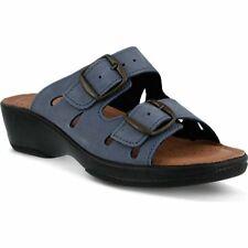 Flexus By Spring Step Decca Navy Sandal - NEW - Size EU 38  / US 7.5