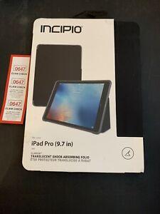Incipio Clarion Series Protective Folio Gel Case for Apple iPad Pro 9.7 - Black