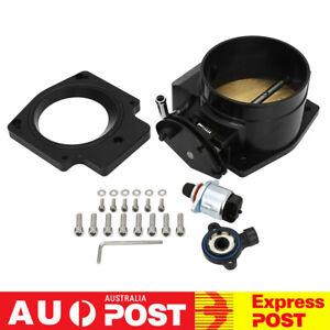 92mm Throttle Body + TPS + Manifold Adapter For Chevrolet GM III LS1 LS2 LS3 LSX